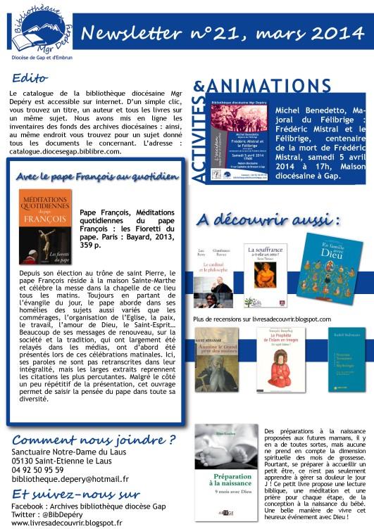 Dioc se de gap et d 39 embrun le catalogue de la - Table pastorale de la bible en ligne ...