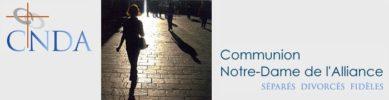 Séparés et divorcés : Récollection de la Communion Notre-Dame de l'Alliance