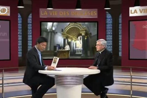 """Interview de Mgr Jean-Michel di Falco Léandri et reportages dans """"La vie des diocèses"""" sur KTO"""
