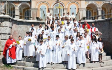 La Pentecôte célébrée dans le parc de Saint-Joseph