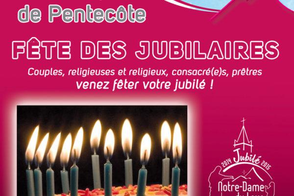 Lundi de Pentecôte : Fête des jubilaires !