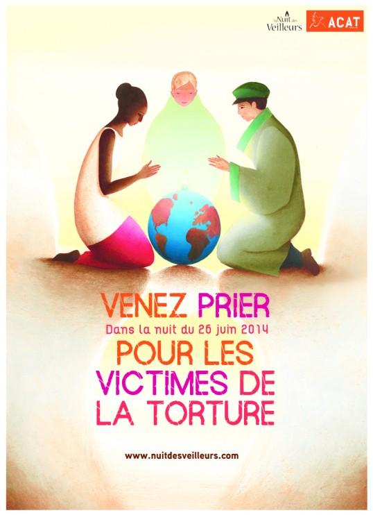 """""""La nuit des veilleurs"""" en ce jeudi 26 juin : prions pour les victimes de la torture"""