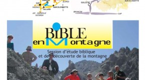 Session « Bible en montagne » à Vars