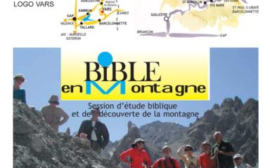 "Session ""Bible en montagne"" à Vars"