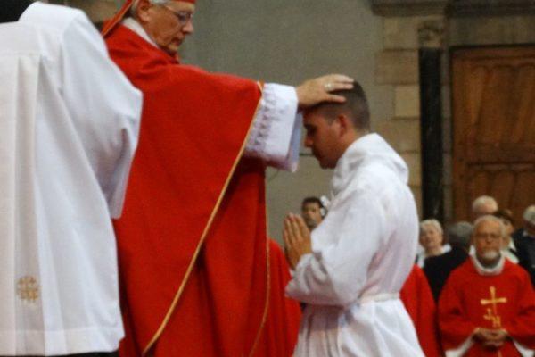 Ordination diaconale d'Édouard Le Conte à Gap