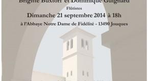 Concert pour la construction d'un clocher