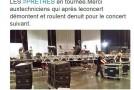 Quelques tweets sur les concerts du groupe «Les Prêtres»