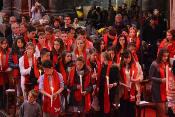 """Confirmation à Embrun : """"Être saint, c'est facile…"""""""