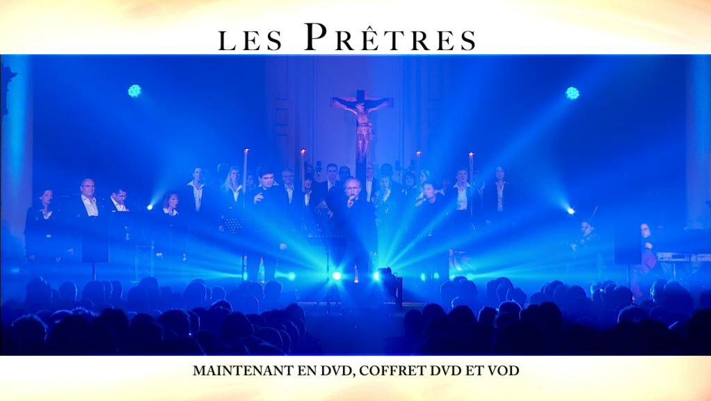 """""""Les Prêtres"""" en DVD, coffret DVD et VOD"""