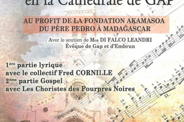 Concert à Gap au profit du père Pedro
