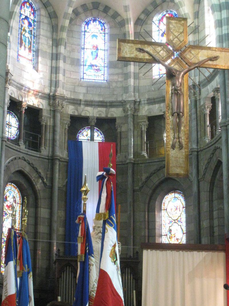 Messe du Souvenir français en la cathédrale de Gap en 2013
