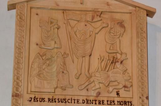 Présentation de la «via lucis» de Molines-en-Queyras