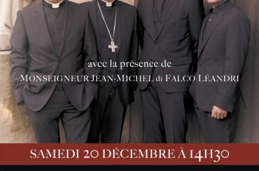 Dédicace du groupe «Les Prêtres» à Embrun