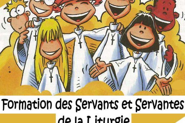 Formation pour servants et servantes de la liturgie