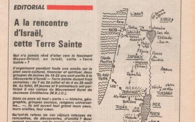 La pastorale des jeunes du diocèse mise en valeur dans une publication de l'Association des archivistes français