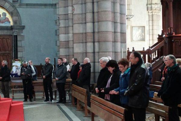 Les chrétiens gapençais prient…