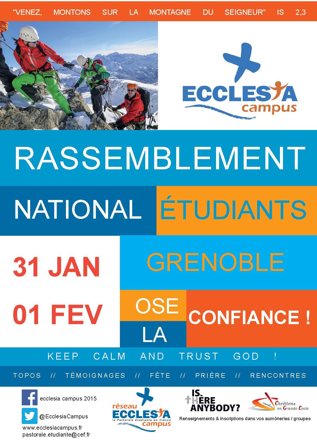 Ecclesia Campus, un rassemblement national étudiant