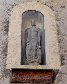 niche de maison Saint-Michel Archange Saint-Véran-2