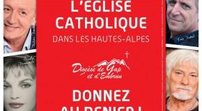 Onze personnalités du spectacle s'engagent pour l'Église dans les Hautes-Alpes