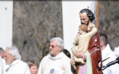 750 jeunes de Gap à Notre-Dame du Laus pour la Saint-Joseph