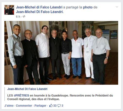 """La tournée du groupe """"Les Prêtres"""" en Guyane, Martinique et Guadeloupe"""