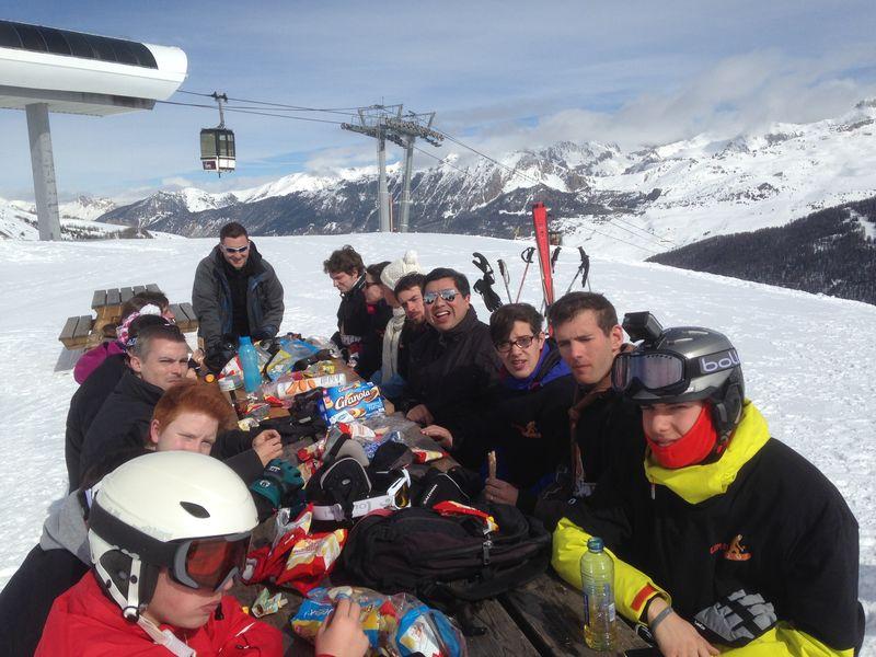 Prier-Témoigner-Skier