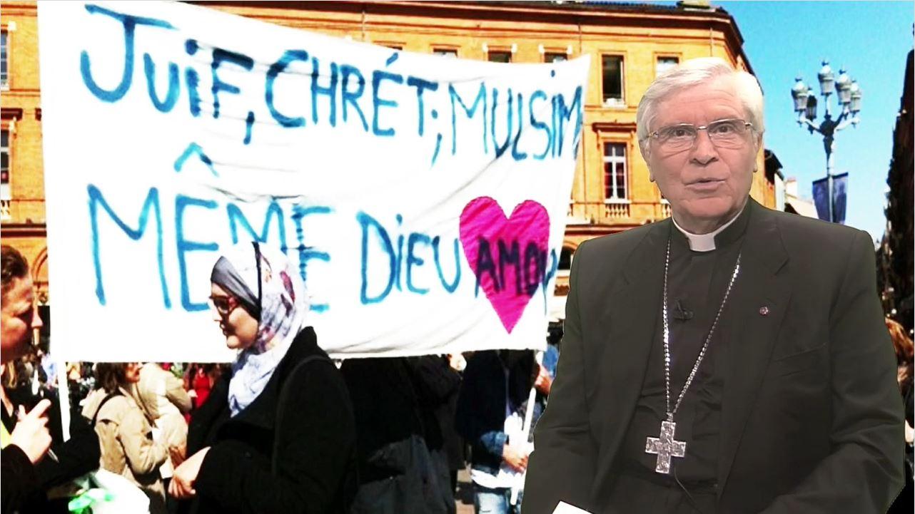 La chronique de Mgr Jean-Michel di Falco Léandri –  Un même Dieu ?