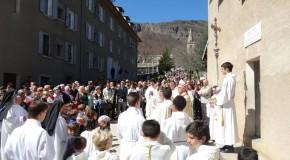 La miséricorde célébrée au Laus