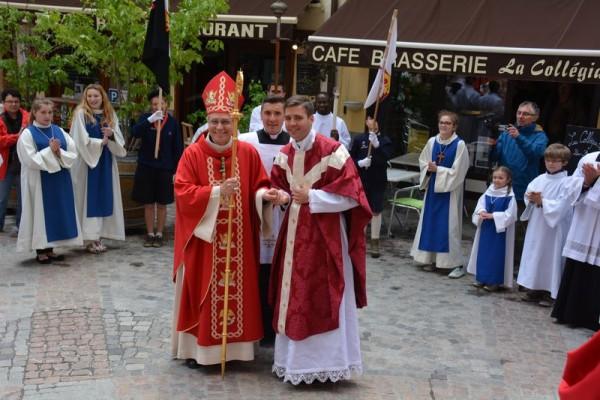 Édouard Le Conte, prêtre le jour même de son anniversaire