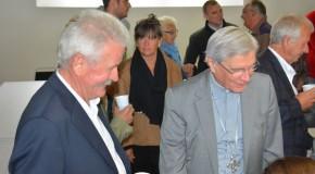 Mgr Jean-Michel di Falco Léandri dans le Dévoluy