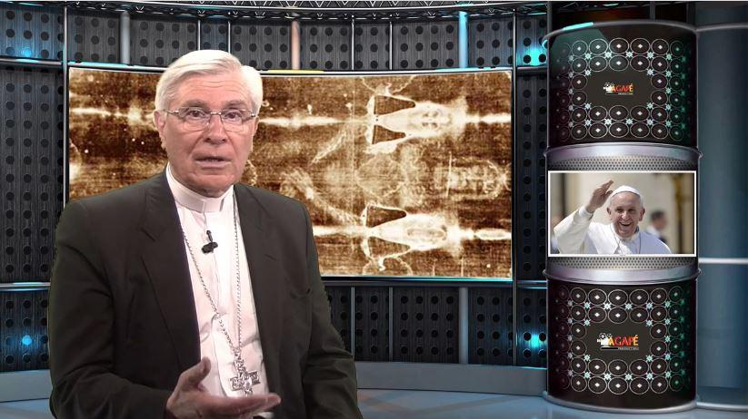 La chronique de Mgr Jean-Michel di Falco Léandri –  Le Saint-Suaire