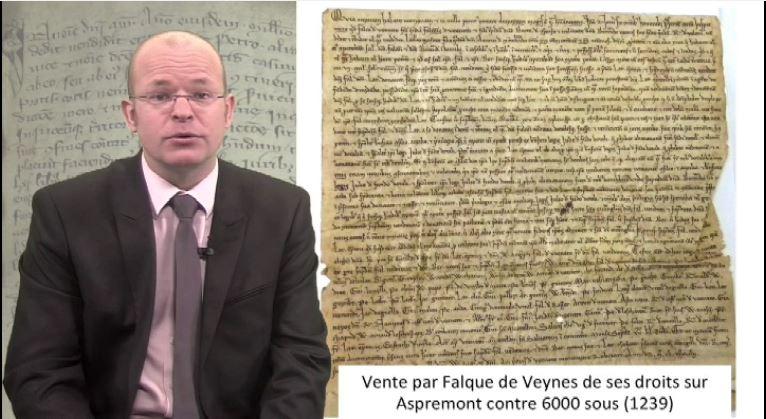 """""""Les Médiévalpes"""" n° 38 : Le droit et l'écriture"""