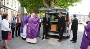 Les funérailles du père Joseph Peyre