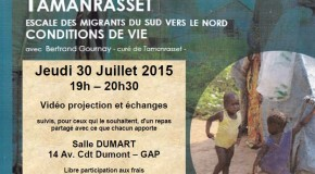 Rencontre à Gap avec le père Bertrand Gournay sur les migrations