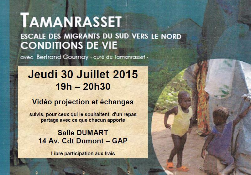 You are currently viewing Rencontre à Gap avec le père Bertrand Gournay sur les migrations