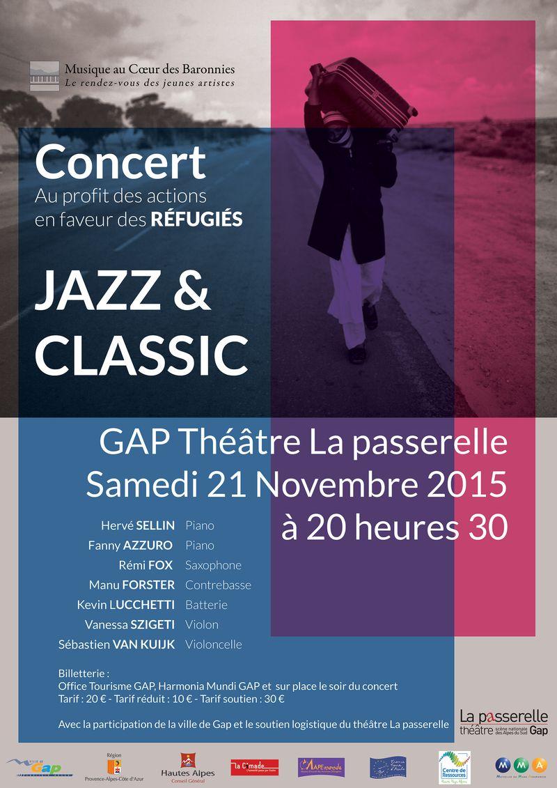 Concert à Gap en soutien aux réfugiés