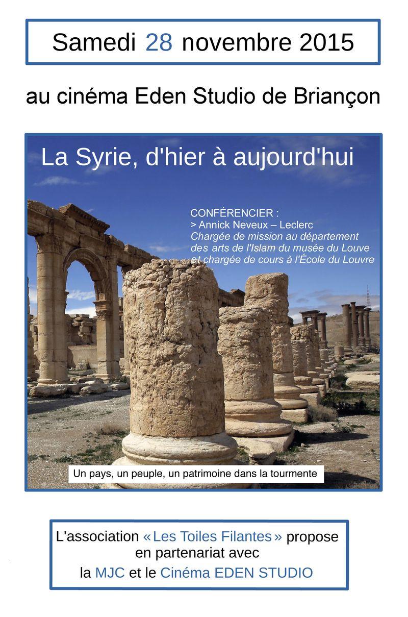 Conférence sur la Syrie à Briançon