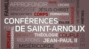Conférence de Saint-Arnoux sur une phrase controversée d'Alfred Loisy