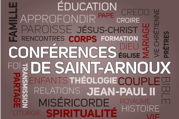Conférence de Saint-Arnoux sur l'exhortation du pape François