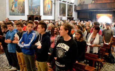 """""""Mettez la pagaille !"""" dit Mgr Jean-Michel di Falco Léandri aux jeunes en citant le pape : """"la pagaille de Jésus !"""""""