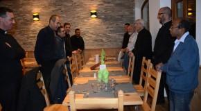 Des prêtres du diocèse à Vallouise