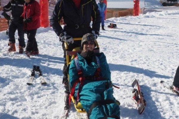 Weekend au ski organisé dans le Queyras par le Secours catholique