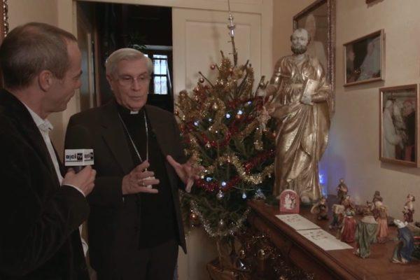L'émission Porte à Porte de D!CI TV s'invite chez Mgr Jean-Michel di Falco Léandri