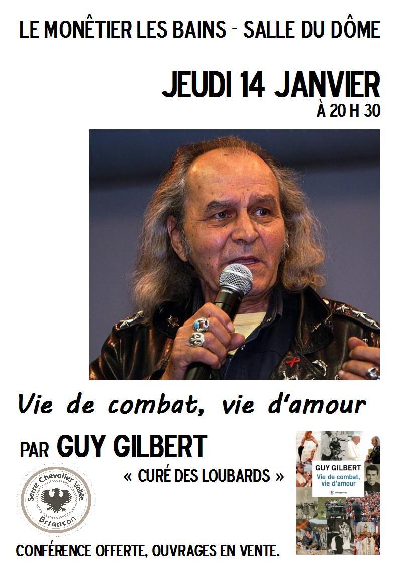 Conférence du père Guy Gilbert au Monêtier-les-Bains