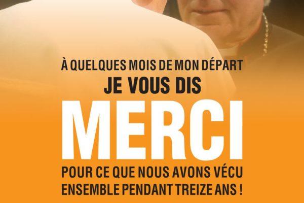 "Mgr Jean-Michel di Falco Léandri dit ""merci"""