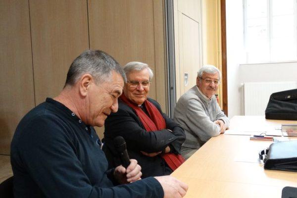 Jean-Marie Bigard à la table des prêtres du diocèse