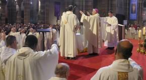 «Je célèbre pour la dernière fois la messe chrismale avec vous»