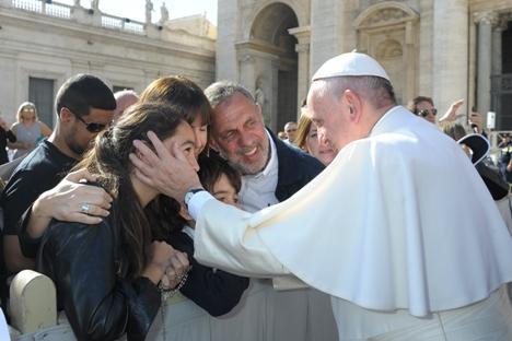 La voici, l'exhortation apostolique du pape François sur la famille
