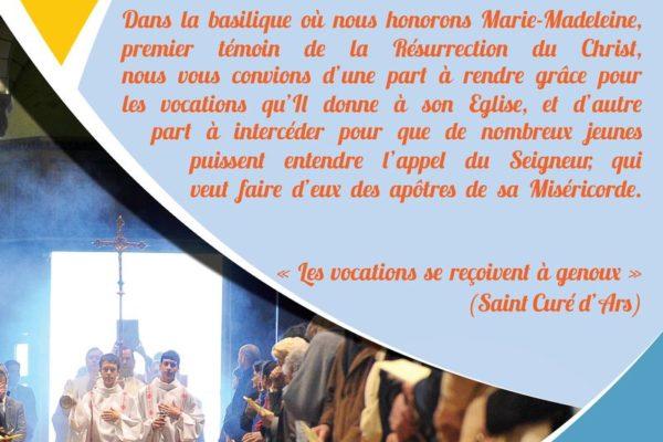 Venez à la Sainte-Baume pour les vocations