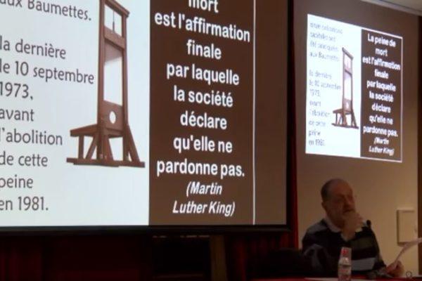 Conférence sur les exclus !… Les personnes détenues